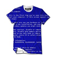Blue Screen of Death Men's Tee