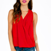 Crissie Crossover Top $38