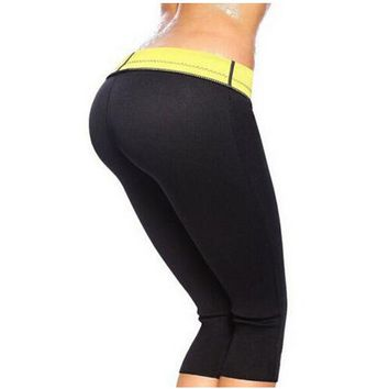 2015 HOT sale control panties !!! women super stretch neoprene slimming pants body shapers plus size s-3xl