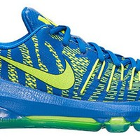 Nike Kids KD 8 (GS) Hyper Cobalt/Volt/Dp Ryl Blue Running Shoe 6 Kids US