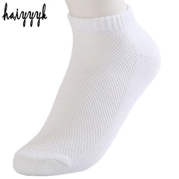 10 Pairs Fashion New Arrival Womens Socks Casual Summer Style Ankle Socks White Socks Mesh Thin Breathable Sock Free Shipping