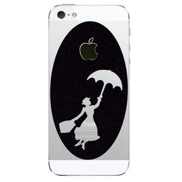 Mary Poppins Velvet iPhone 5 Decal - iPhone 5s Stickers - iPhone5 Decal
