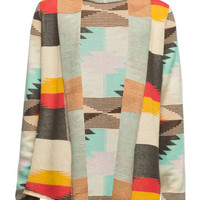 Billabong Aztec Girls Cardigan Multi  In Sizes