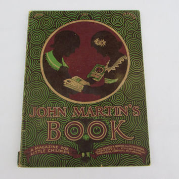 John Martin's Book August 1915 Antique Children's Magazine