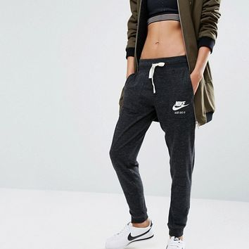 Nike Sweatpants With Small Logo In Vintage Washed Fabric at asos.com
