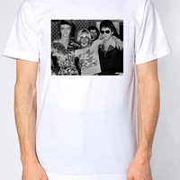 David Bowie, Iggy Pop and Lou Reed Unisex American Apparel Crew Neck T-Shirt. Small to X-L.