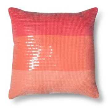 Xhilaration® Ombre Sequin Decorative Pillow - Pin...: Target