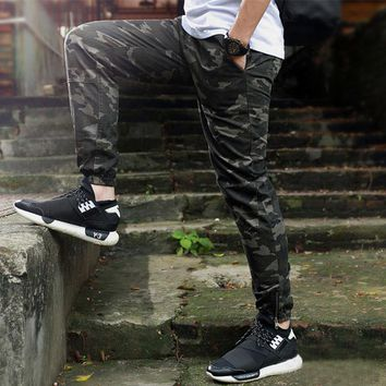 Jogger pants men camouflage military sporting Joggers pants chinos sweatpants camo joggers fashion casual mens camo cargo pants
