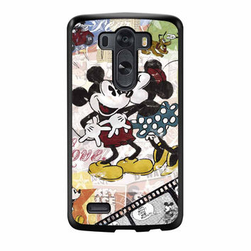Mickey Mouse And Minnie Mouse Disney LG G3 Case