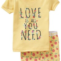 "Old Navy ""Love Is All You Need"" PJ Sets For Baby"