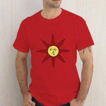 Solaire Of Astora Dark Souls Red Tshirt