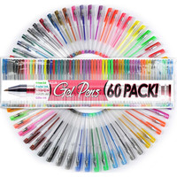 Ultimate Gel Pen Set of 60 For Adult Coloring Books & More