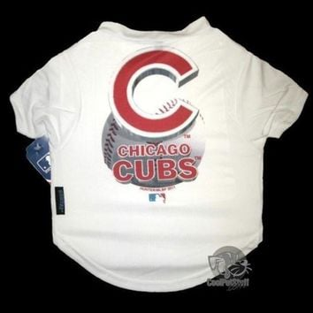 PEAPYW9 Chicago Cubs Performance Tee Shirt