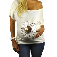 Slogan Plus Size Maternity Tops - Lazy Daisy