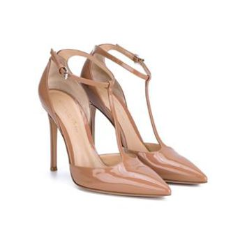 GIANVITO ROSSI | Patent Leather Point Toe Pumps | Womenswear | Browns Fashion