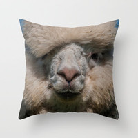AL PACONE Throw Pillow by catspaws
