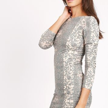 Greater Days Printed Dress