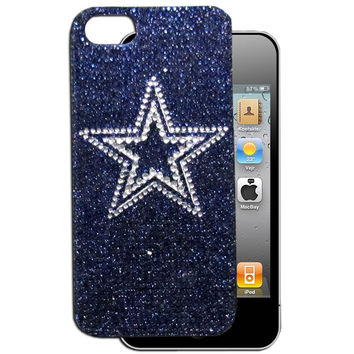 Dallas Cowboys Crystal Snap on Case fits iPhone 5