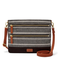 Passport Crossbody, Chambray
