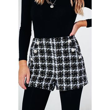 First Day Shorts: Black/Multi