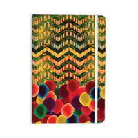 "Deepti Munshaw ""Chevron and Dots"" Rainbow Everything Notebook"
