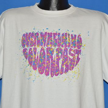 90s Overwhelming Colorfast 1991 Album t-shirt Extra Large