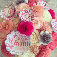 Breast Cancer Awareness Bouquet - Benefiting Stephanie A.