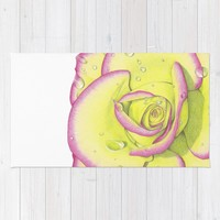 Rose - After the Rain Rug by drawingsbylam