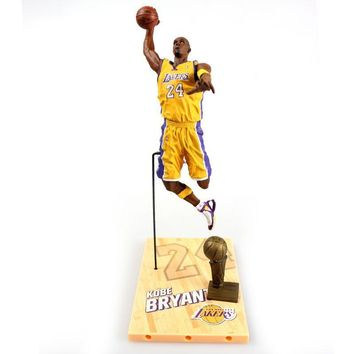 NBA star limited edition Kobe Bryant   Action Figure Model Toys Collections Dolls Christmas present for boy