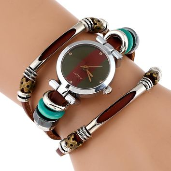 Gnova Leather Bracelet Watches