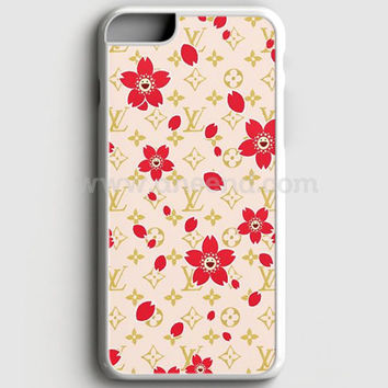 Louis Vuitton Flower Pattern iPhone 7 Plus Case  | Aneend.com