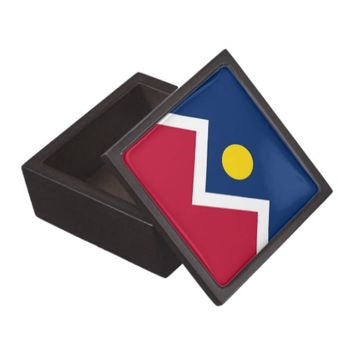 Colorado State, Denver City Flag Premium Gift Box