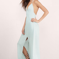 Start Again Slit Maxi Dress