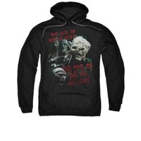The Lord Of The Rings Movie Time Of The Orc Licensed Adult Pullover Hoodie