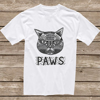 Custom paws design clothing for T-shirt mens and T-shirt women