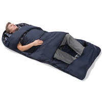 The Zippered Vents Sleeping Bag - Hammacher Schlemmer