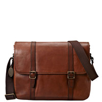 Fossil Estate Leather E/W Messenger Bag