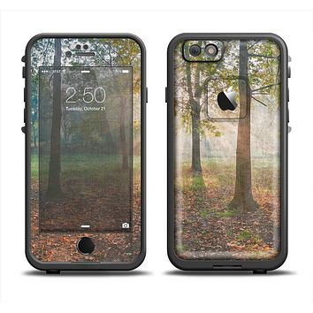 The Vivia Colored Sunny Forrest Skin Set for the Apple iPhone 6 LifeProof Fre Case