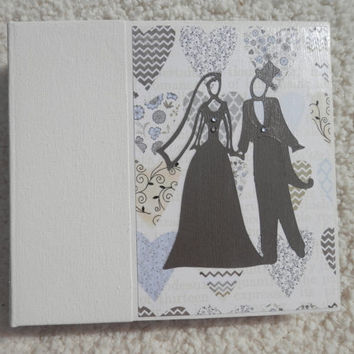 6x6 Wedding Scrapbook Photo Album