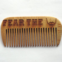 Beard comb Wooden Comb for beard Combs Hair accessories Gift for dad Gift for him Comb wooden hair comb Hair comb Idea for gift Dad gift