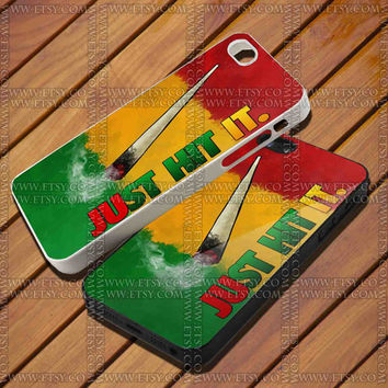 Nike Just Hit It design Design for iPhone Case,Samsung Galaxy S3/S4 Case,iPhone 4 Case,iPhone 4S Case and iPhone 5 Case