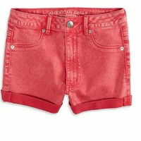 AEO 's Sky High Shortie (Bright Red)