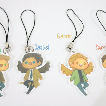 Team Free Will + Gabriel Charms