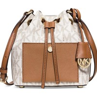MICHAEL Michael Kors womens Greenwich Small Bucket Bag