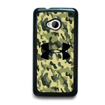 CAMO BAPE UNDER ARMOUR HTC One M7 Case Cover