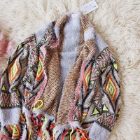 Spool Lux Serape Knit Sweater
