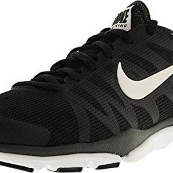 NIKE WOMENS FLEX SUPREME TR 3 BLACK/WHITE/ANTHRACITE ANKLE-HIGH MESH RUNNING SHOE - 8.