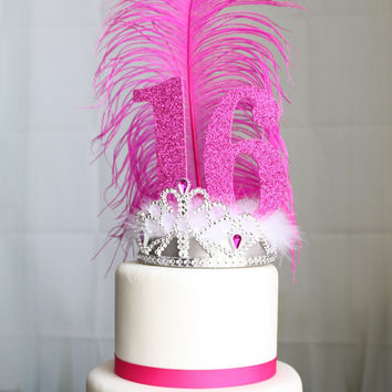 Princess Sweet Sixteen Cake Topper