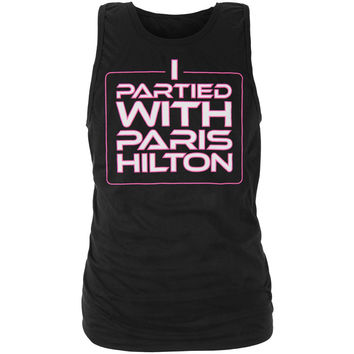 Paris Hilton - I Partied With Paris Tank Top