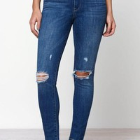 DCCKYB5 Levi's 721 High Rise Skinny Ankle Jeans